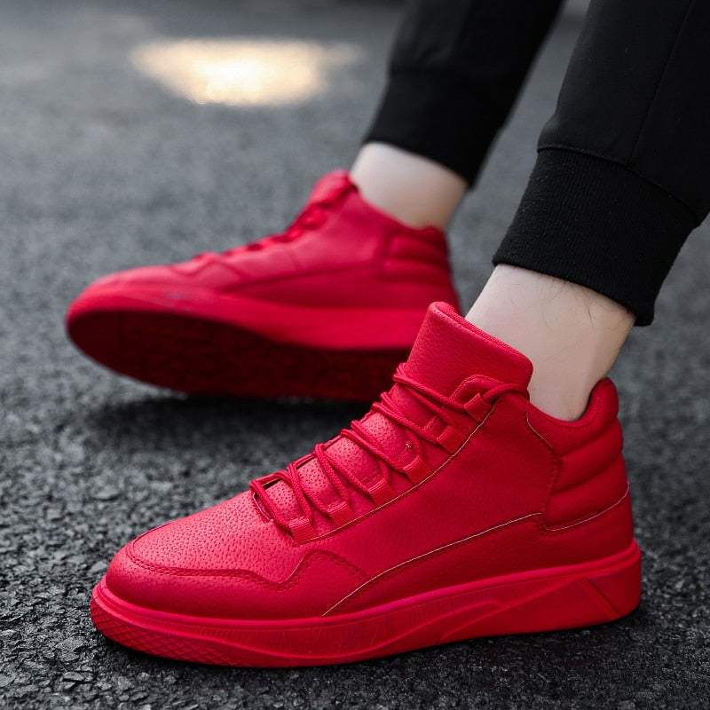 cf7216423689a Hot Red High quality Comfortable Sneakers Teens Mens Shoes Black Casual  Shoes Soft Fashion Sapatilhas Gray