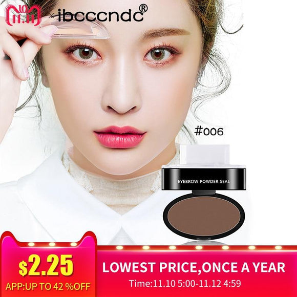 3 Colors Quick Makeup Eyebrow Powder Seal Waterproof Eyebrow Stamp Long lasting Eyebrow Shadow Set 3 Natural Shape Brow Stamp-Makeup-Zodeys-1-Zodeys