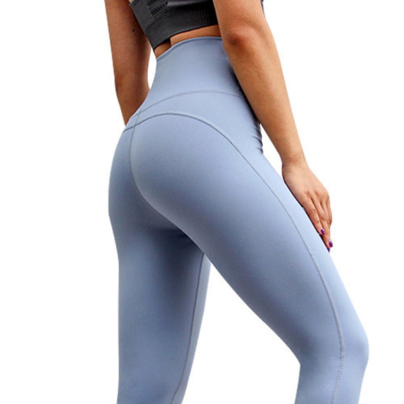 Women Yoga Leggings High Waist Yoga Pants Fitness Seamless Leggings Gym Tights Squat Proof Sport Trouser Running Workout Leggins