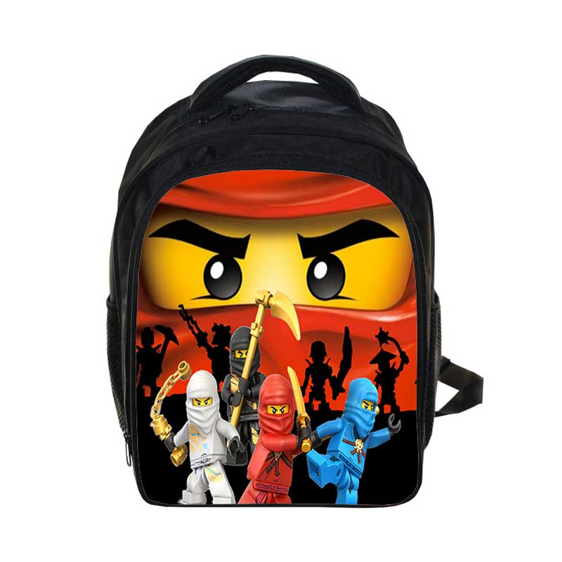 New Lego Backpacks Gifts for Boys Girls Kids Cartoon Movie Lego Ninjago  Pattern School Bag with f439fcfe23002