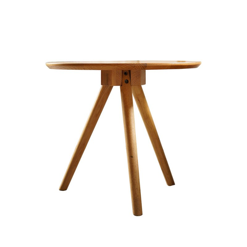 Marvelous Small Tea Table Wooden Sofa Craft Table Minimalist Modern Living Room Furniture Coffee Table Ash Wood Round Side Table Caraccident5 Cool Chair Designs And Ideas Caraccident5Info