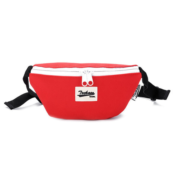New Child Waist Fanny Bag Kids Multicolour Fashion Light Weight Waist Pack Boy Girls Money Belt Bags Canvas Small Messenger Pack