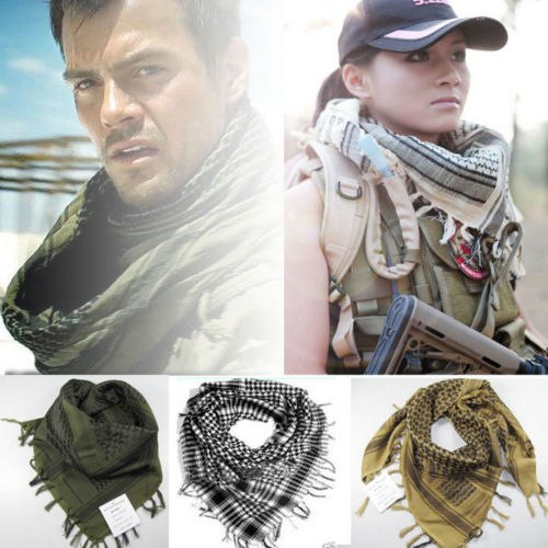 ... Thefound New Winter Scarves Men Womens Military Arab Tactical Desert  Army Shemagh KeffIyeh Outdoor Plaid Scarf ... 8fd86c590