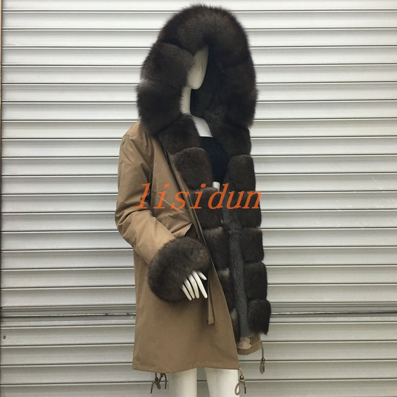 Fox fur coats, natural long skirts, women's hats, super mink fur, Rex, rabbit hair, liner, sable, big hair collar.