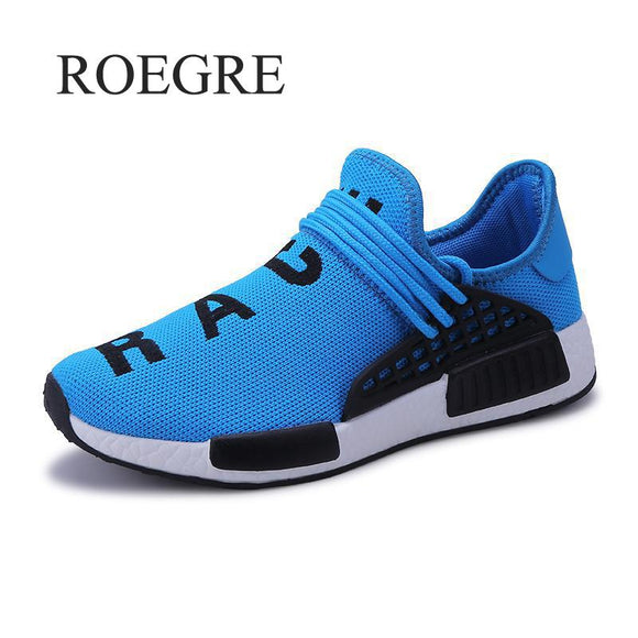 New 2018 Wheresroad Human Race Casual Shoes Men's Fashion Sneakers Light Summer Spring Male Classic Shoes Plus Size 35-47