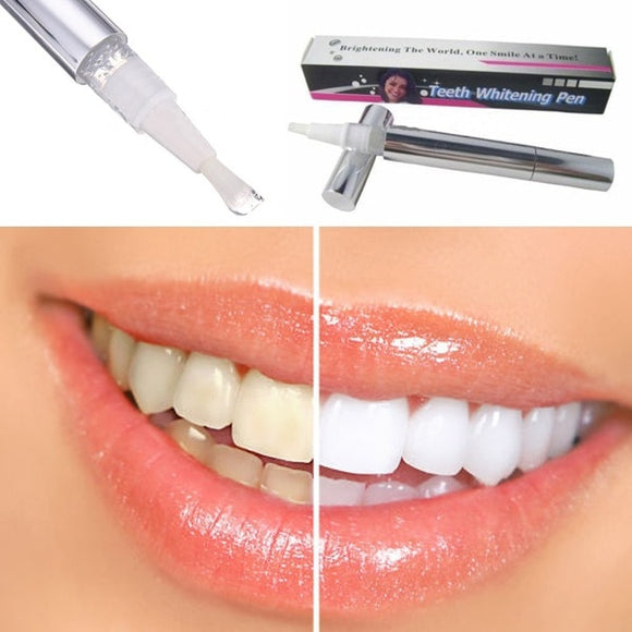 Popular White Teeth Whitening Pen Tooth Gel Whitener Bleach Remove Stains oral hygiene HOT SALE