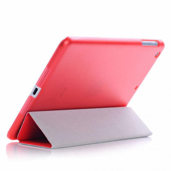 Fashion Tablet 3 Fold Leather Case Tablet PC Smart Cover For iPad Mini 1 2 3 Retina Simplism Series Wake Up Folding Tablets Case