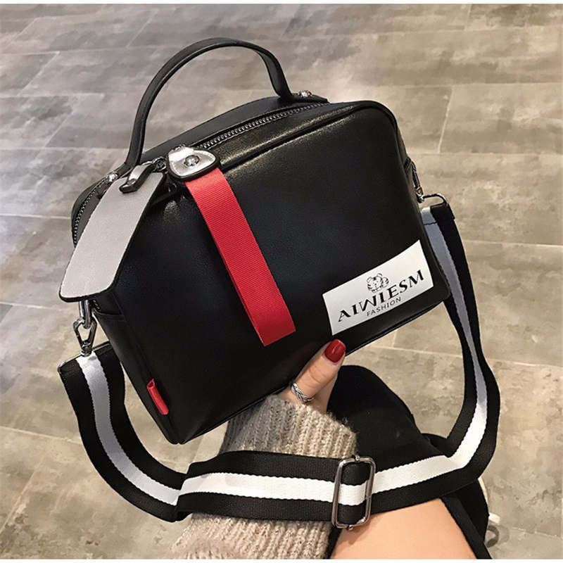 15a714f74f Women s Leather Large capacity luxury handbags women bags designer Dou