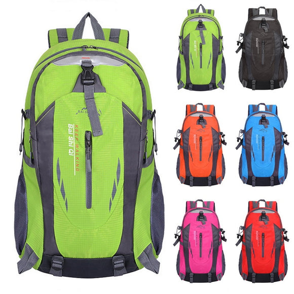 40L Waterproof Backpack Women Bags Hiking Travel Outdoor Bag Men Laptop Notebook Backpack Women Theft Sports Bags Fashion 2018