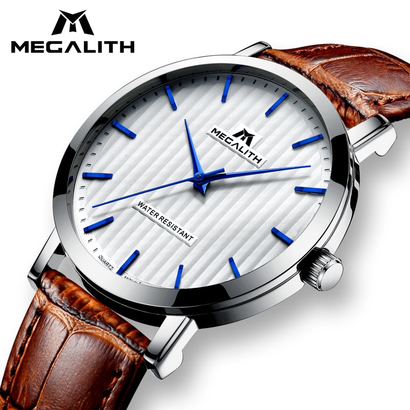 36cb13219315 MEGALITH Watches For Men Waterproof Date Analogue Men s Watches Fashion Casual  Mens Watches Top Brand Luxury
