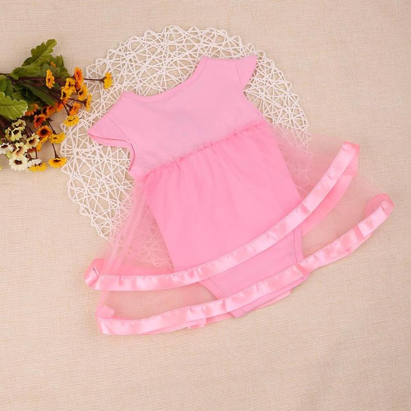 db87856d8 NewBorn Baby Dress Summer Cotton Bow Baby Rompers For girls Summer Kid