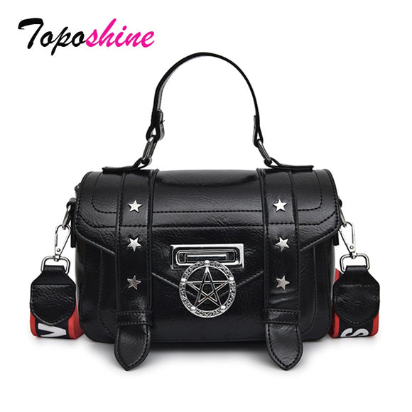 Pentagram Small Square Women Bag Female New Fashion Shoulder Bags High Quality  Female Handbags Girls Casual  Messenger Bags