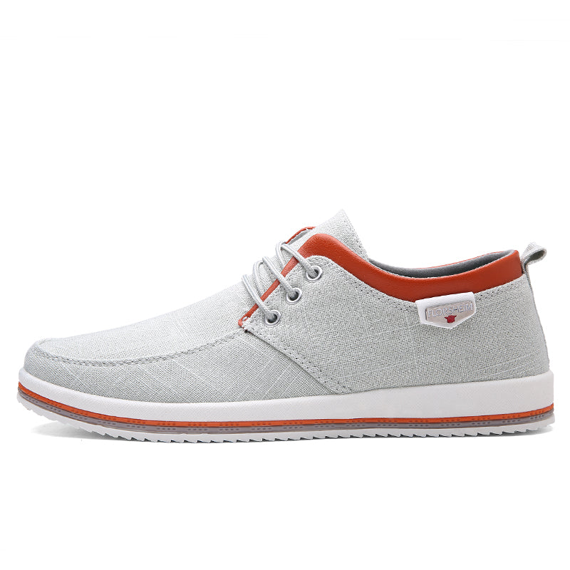 5a5c8bb72b6 ZUNYU New Arrival Spring Summer Comfortable Casual Shoes Mens Canvas Shoes  For Men Lace-Up