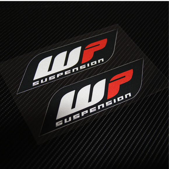 Hot sell 2 pieces Emblem Sticker Decal Motorcycle For WP suspension