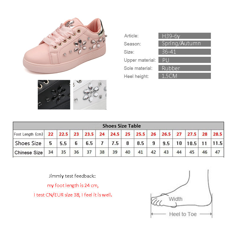 ... 2018 Women sneakers Pearl Espadrille Soft Leather Rhinestone Women Flat  Shoes Loafers pink Shoes Party Shoes ... 8a2a0c7b6b6b