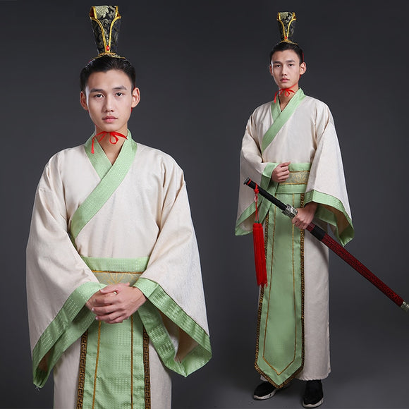 Chinese Ancient Costumes for Men Oriental Television Movie Stage Costume Royal Clothes Male Hanfu Tang Suit Gown Robe Cosplay