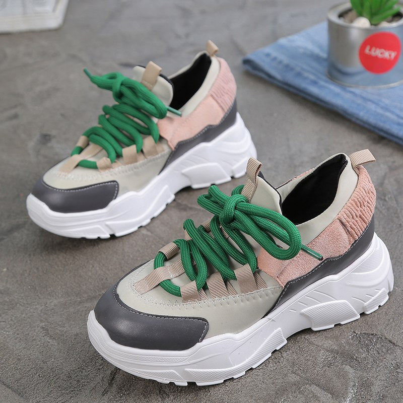 7494a4793cf Sooneeya Height Increasing Women Casual Shoes Comfortable Platform Shoes  Creepers Woman Sneakers Ladies Trainers Chaussure Femme