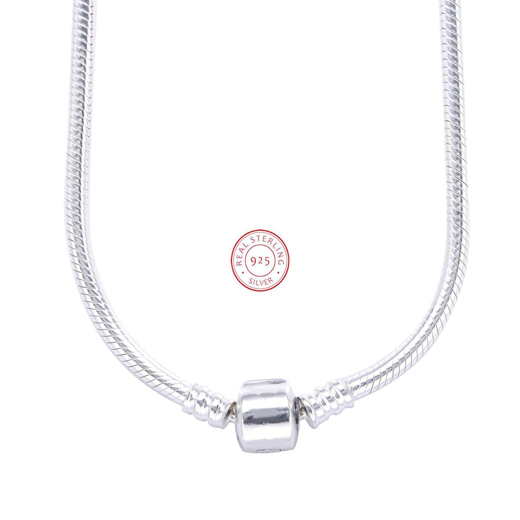 Authentic 925 Sterling Silver Pandora Necklace Lobster