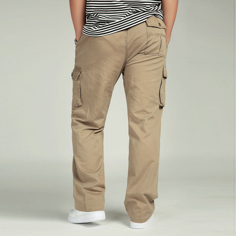 a514e90aad3 ... Summer Men s Plus Size Clothing 4XL 5XL 6XL Cargo Pants Big Tall Casual  Many Pockets Loose ...