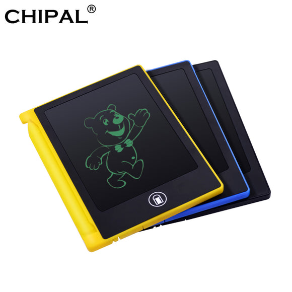 CHIPAL 4.4 Inch LCD Writing Tablet Mini Digital Graphic Drawing Tablets Electronic Handwriting Board Pad eWriter + Pen for Kids