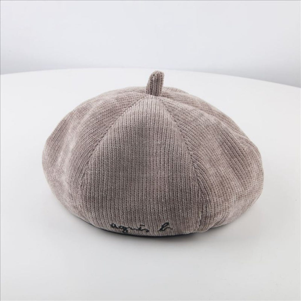 ... women Baby Cotton Berets Elegant Hat For Girls Vintage Autumn Winter Baby  Cap Kids Infant Girl ... 3653637ea