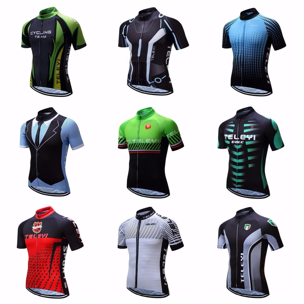 417377d1c 2018 Cycling jersey Men s Bike jersey Pro MTB Shirts Short sleeve Team Maillot  Ciclismo Top Bicycle