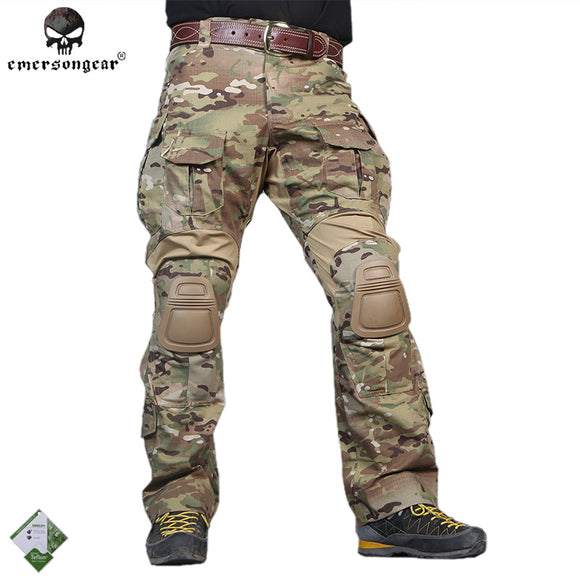 men Camouflage Hunting Pants Emersongear G3 Multicam Tactical Airsoft Combat Emerson Trousers Fedex delivery from USA