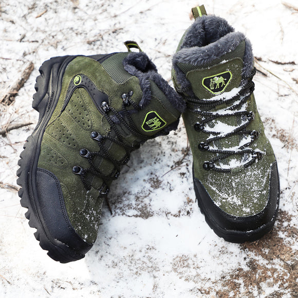 Hiking Shoes Professional Waterproof Hiking Boots Tactical Boots Outdoor Mountain Climbing Sports Sneakers Boots for Hunting