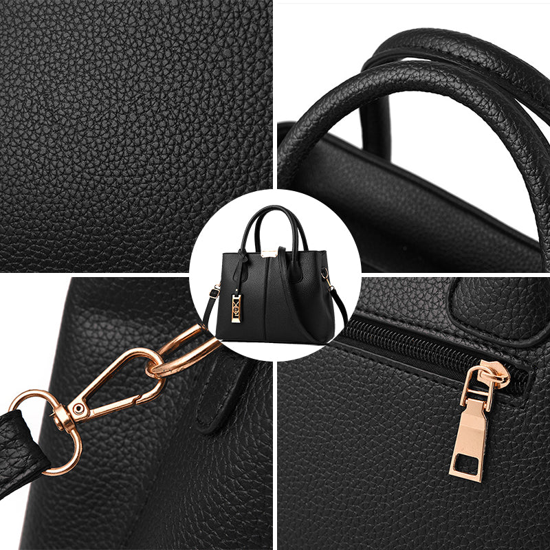 ... Women PU Leather Handbags Ladies Large Tote Bag Female Square Shoulder  Bags Bolsas Femininas Sac New ... 0da72762882d