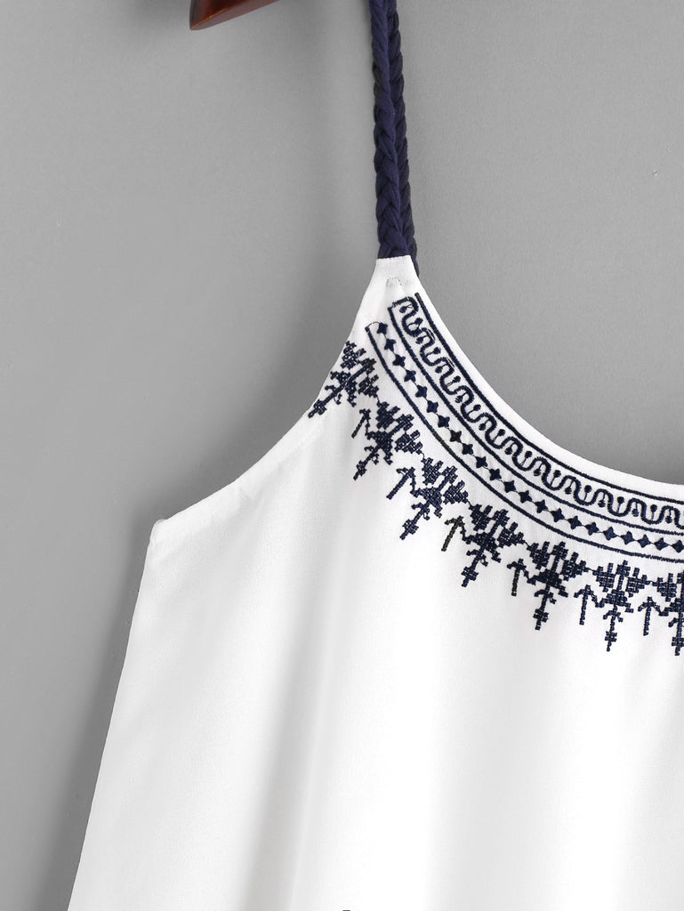 2ee78635ab4c Free Ostrich Vest Shirt Camis Embroidered Tops Women Girls Summer  Comfortable Chiffon Blouse Sleeveless Tank Ethnic