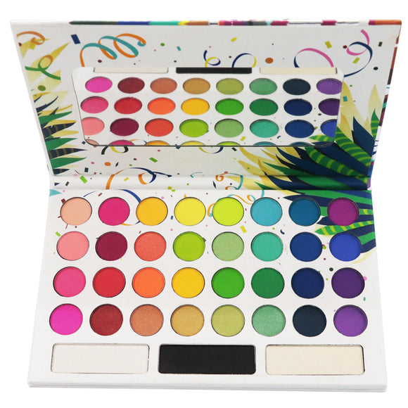 Brand 35 Colors Take Me Back To Brazil Eyeshadow Palette Shadows For Eye Summer Makeup Maquillaje Profesional Eyeshadow Pallete-Makeup-Zodeys-Take Me Back Brazil-Zodeys