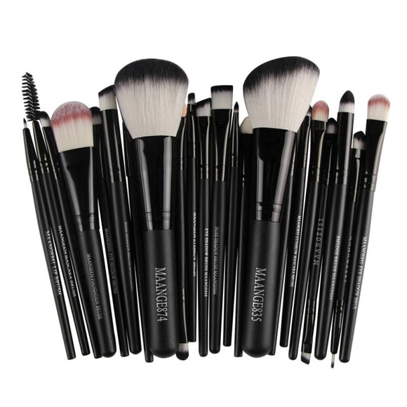 New Pro 22Pcs Cosmetic Makeup Brushes Set Bulsh Powder Foundation Eyeshadow Eyeliner Lip Make up Brush High Quality Maquiagem
