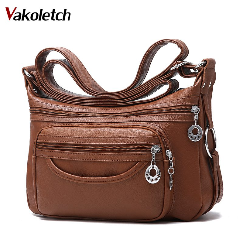 8d5488c475 2018 Brand Leather Shoulder Bags Tote Bag crossbody bags for women Luxury  Women Messenger Bags Designer