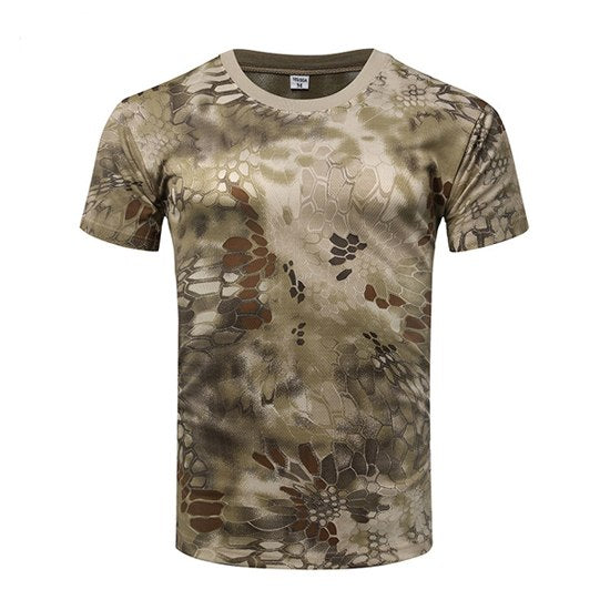 ... 2018 Top Sale Men s Tactical T-Shirt Us Army T Shirt Military  Camouflage t shirt ... fb31c1e5953