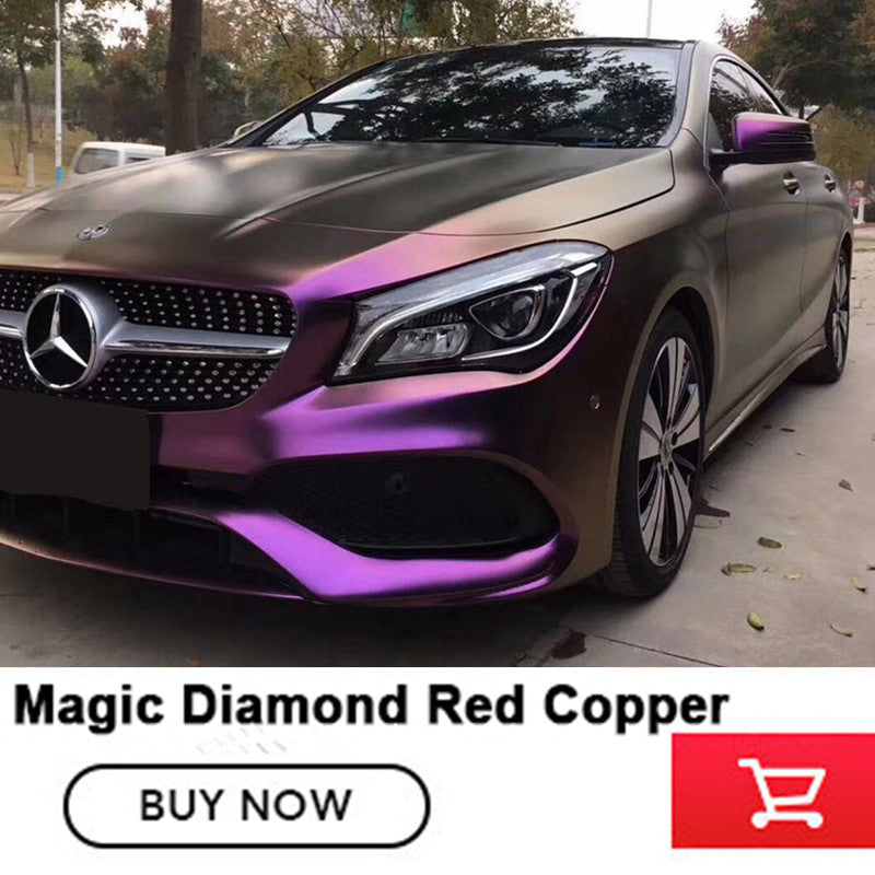 Vinyl Wraps Magic Diamond Red Copper Vinyl Quality Assurance Car Vinyl