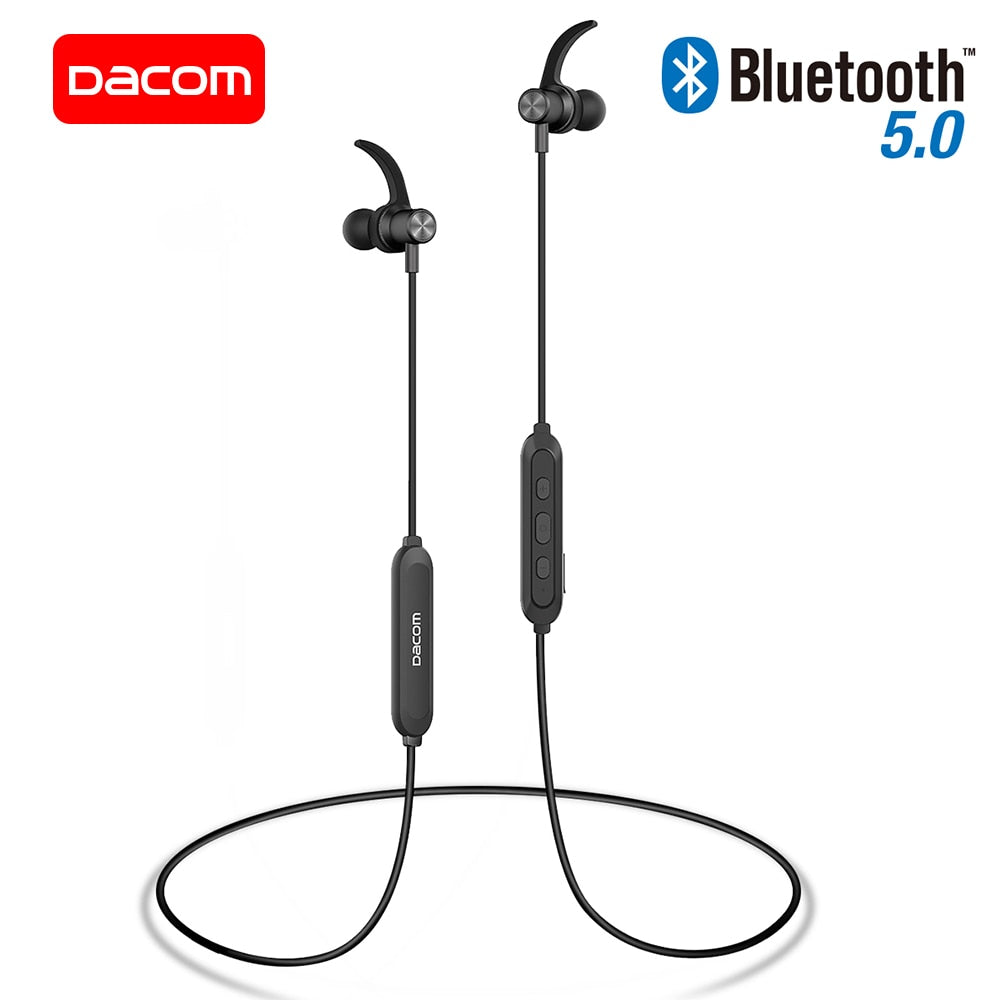 DACOM L15 Wireless Headphones Sports Bluetooth Earphone 5