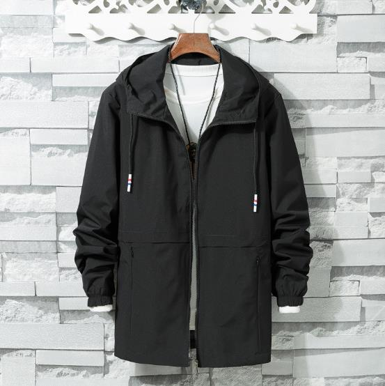 bd61d24d2dee 2018 New Spring Summer Mens Fashion Outerwear Windbreaker Men  S Thin  Jackets Hooded Casual Sporting