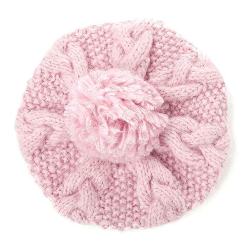 ... SIGGI Winter Women Beanies Skullies Pompom Cute Acrylic Wool Solid  Knitted Hats For Girls Youth Soft ... a3010b46f80