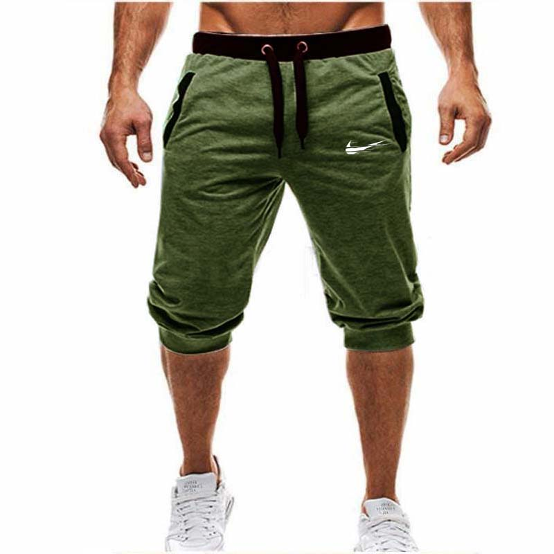d9034975c36 Mens Baggy Jogger Casual Slim Harem Shorts Soft 3 4 Trousers Fashion New  Brand Men