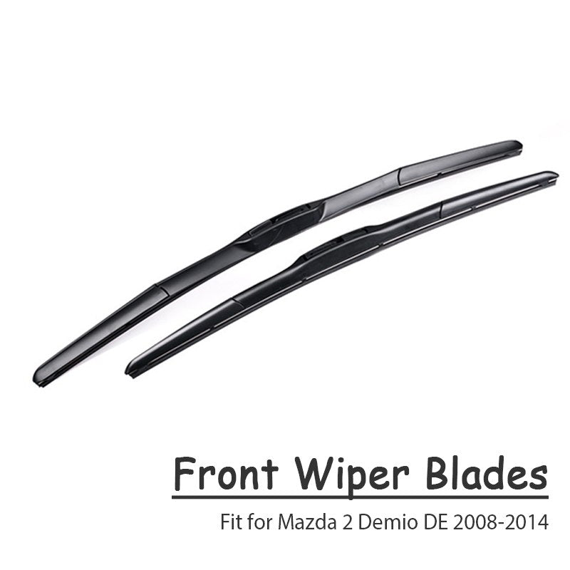 Car Windshield Rubber Front Wiper Blades Arm Kit For Mazda
