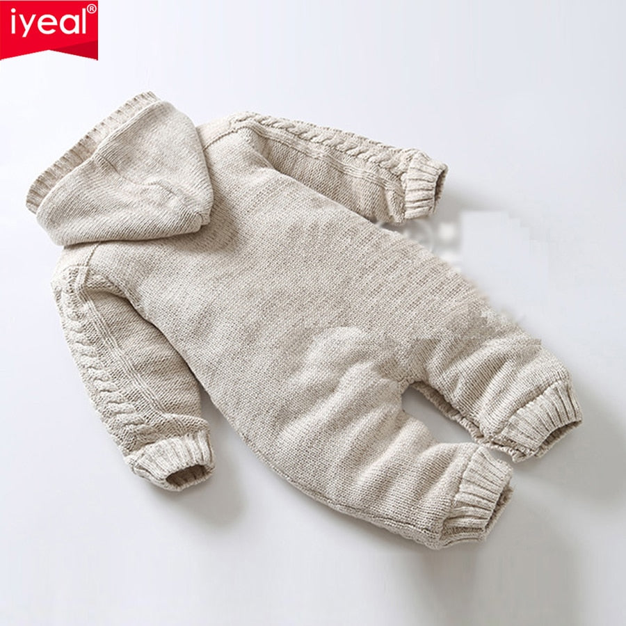 ffd535004 Iyeal Thick Warm Infant Baby Rompers Winter Clothes Newborn Baby Boy G