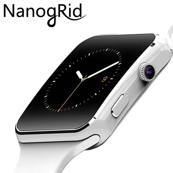 Bluetooth Smart Watch Sport Passometer Smartwatch with Camera Touch Support SIM Card Whatsapp Facebook for Android Phone