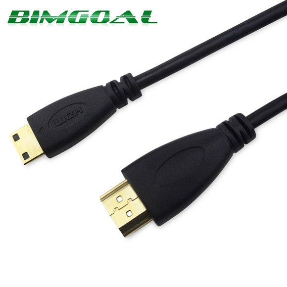 FSU High speed Gold Plated HDMI TO MINI HDMI Cable 1.4 Version Plug Male-Male HDMI 1080p 3D for TABLETS 0.5m 1M,1.5m,2M,3M,5M