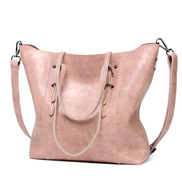 ... ACELURE Luxury Brand Women Shoulder Bags Big Bucket Bag Soft Leather  Female Casual Tote Wild Messenger ... 93e25dcac852b