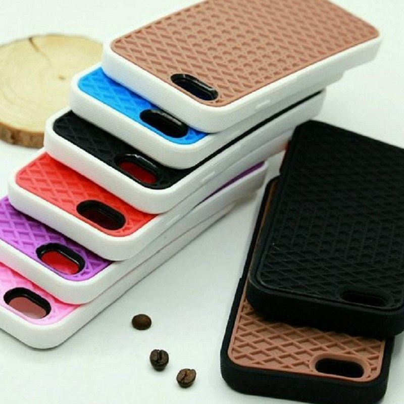c7df5545f209 EPENA VANS Waffle Case For iPhone X XS 5 5s SE Cover Soft Rubber Waffle Shoe