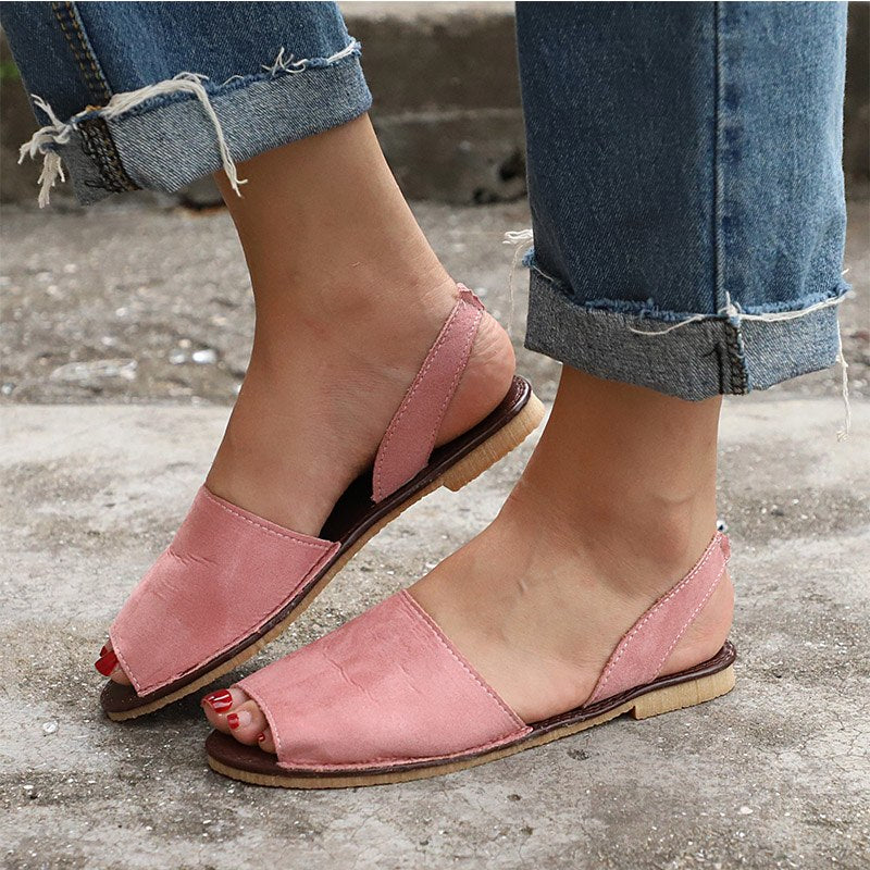 6c7312995bc4 Women Flat Summer Sandals 2018 Ladies Gladiator Peep Toe Elastic Band  Fashion Platform Shoes Plus Size