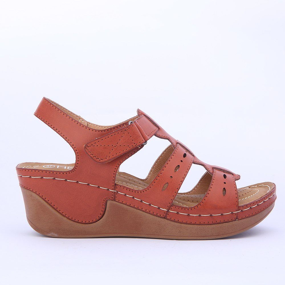 a86c22620f8 Wedges Shoes Women Sandals Platform Casual Soft Sole Camel Color  Lightweight Comfortable Gladiator Summer Shoes Mama