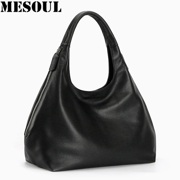 100% Genuine leather hobo bags for Women Shoulder Bag Designer Handbags  High Quality Female Crossbody b9e04da14673