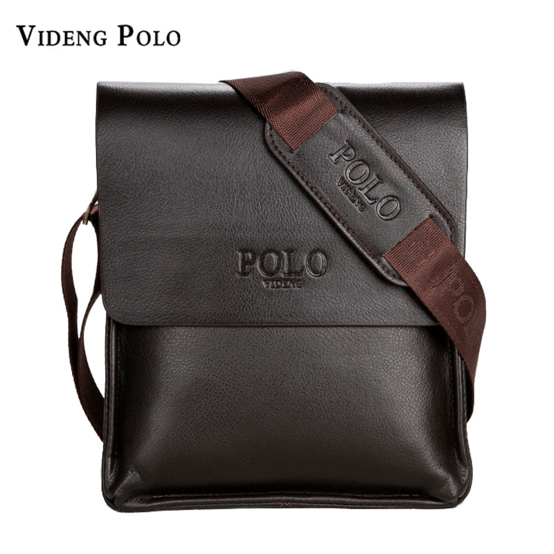 835e1bc38eb5 VIDENG POLO Famous Brand Leather Men Bag Casual Business Messenger Bag For  Vintage Men s Crossbody Bag