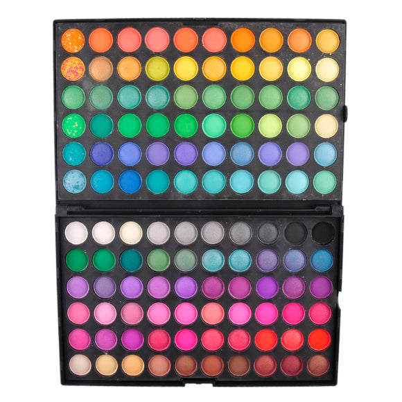 New full 120colors Professional Makeup Eyeshadow Palette 120 Color maquiagem Make up Set Matte & Shimmer Eyeshadow Powder